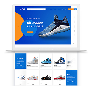 Klekt website redesign