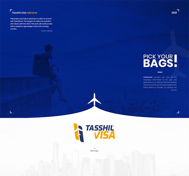 Tasshil Visa Branding