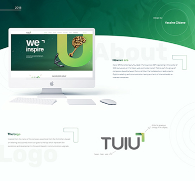 TUIU – website design